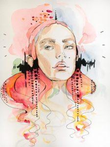 Eine weitere Aquarell Illustration von Anya-Katharina