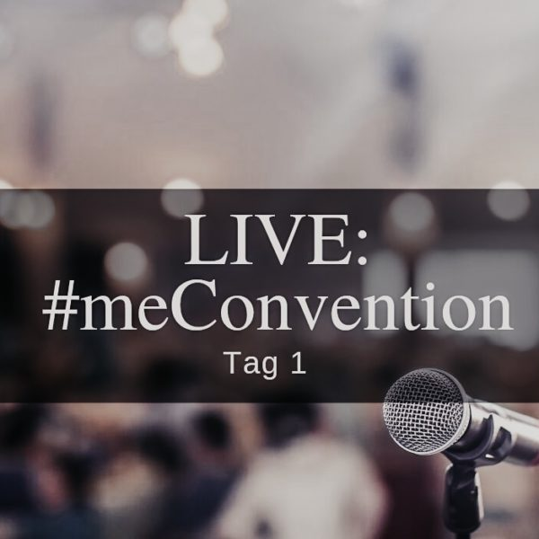 me Convention 2019: Tag eins