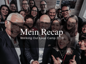drittes deutsches Working Out Loud Camp 2019