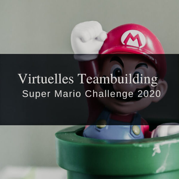 Virtuelles Teambuilding mit der Super Mario Challenge 2020